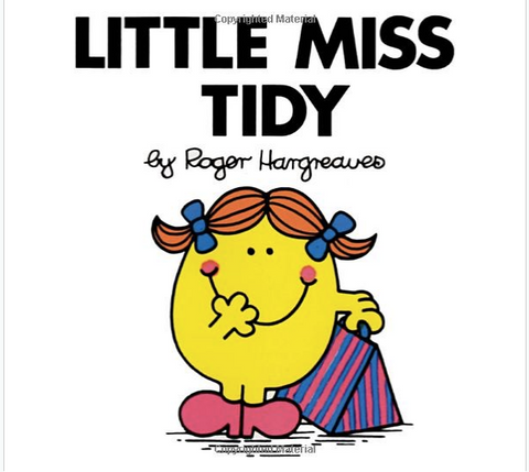 Little Miss Tidy Book
