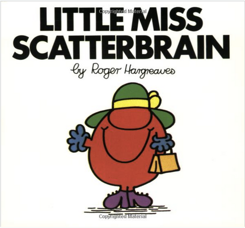 Little Miss Scatterbrain Book