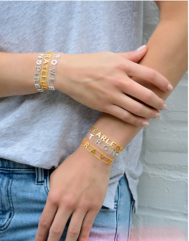 Empowered Bracelets Gold | Multiple Styles