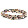 Semi-Precious Stone Wrap Necklace/Bracelet| Multiple Styles