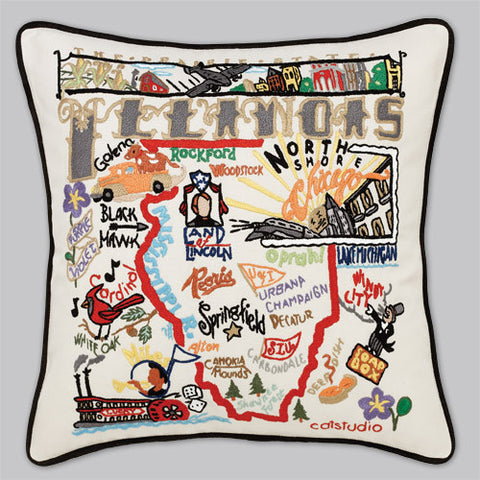 catstudio - Illinois Pillow