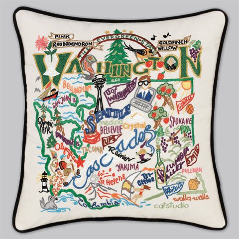 catstudio - Washington State Pillow