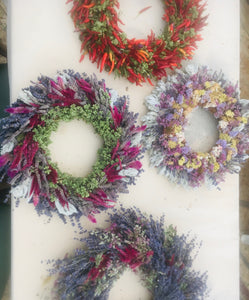 Flowers and Herbs Wreath Making Workshop