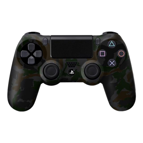 Camo Dark Green PS4 Controller Skin