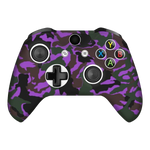 Camo Purple Xbox One X Controller Skin