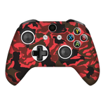 Camo Red Xbox One X Controller Skin