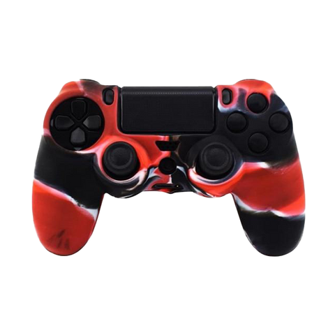 Wavy Red PS4 Controller Skin