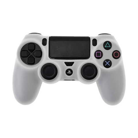 White PS4 Controller Skin