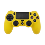 Yellow PS4 Controller Skin