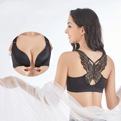 Big Size Butterfly Adjustable Push Up Bra