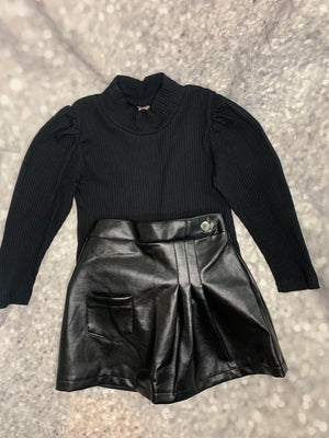 """Bet On Black"" Skirtset"