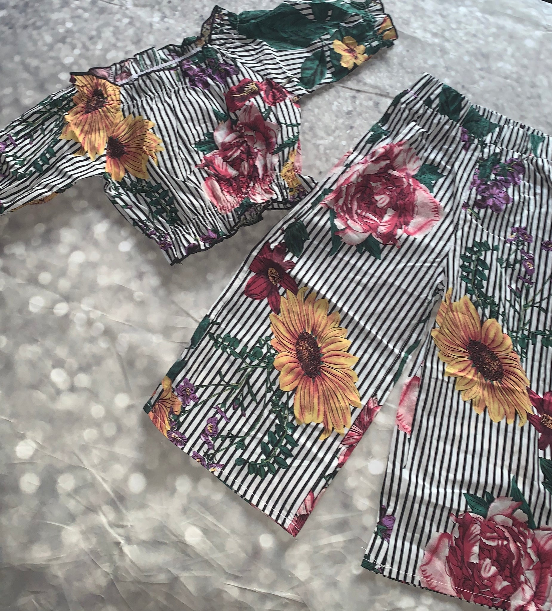 """Spring Into Fall"" Pants Set"