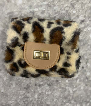 """Untamed"" Leopard Purse"