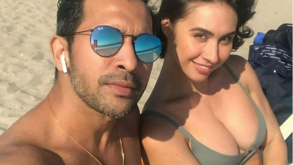 This picture of Lauren Gottlieb chilling with Terence Lewis