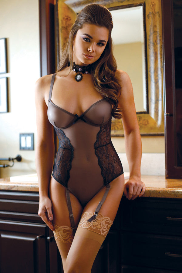 luxury teddy with garters