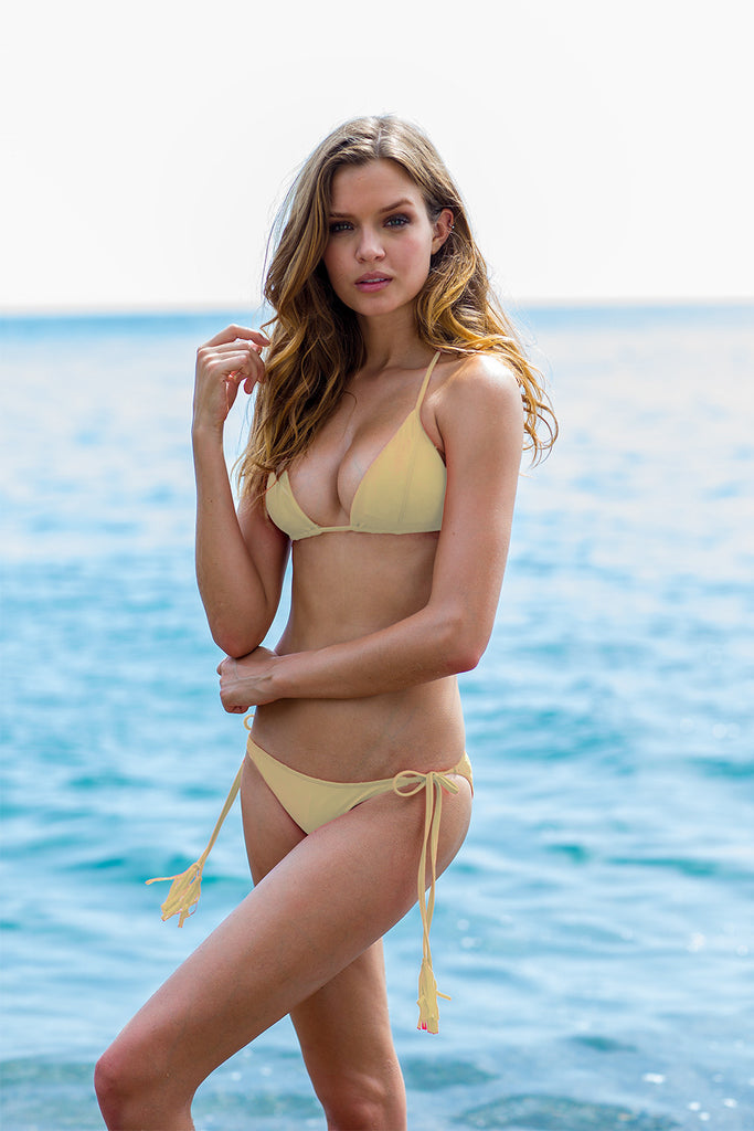 SAUVAGE CREAM CALYPSO BIKINI SET