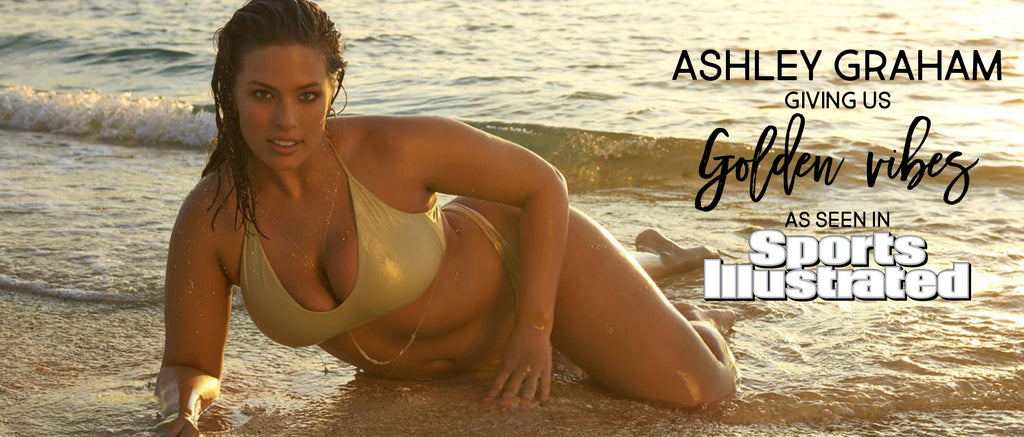 Ashley Graham In Luli Fama Swimsuit