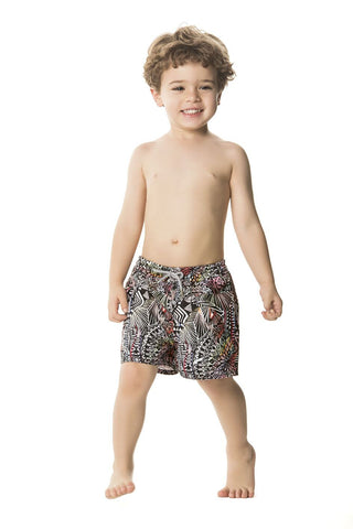 boys designer swim trunks