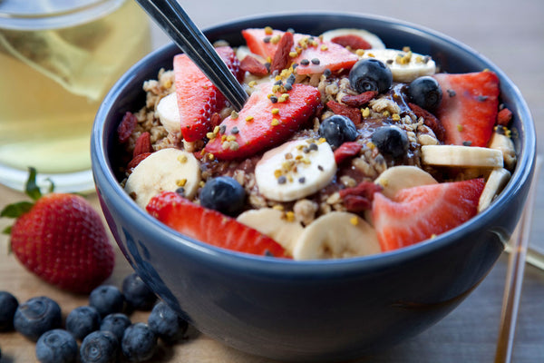 healthy bikini body by eating acai bowls