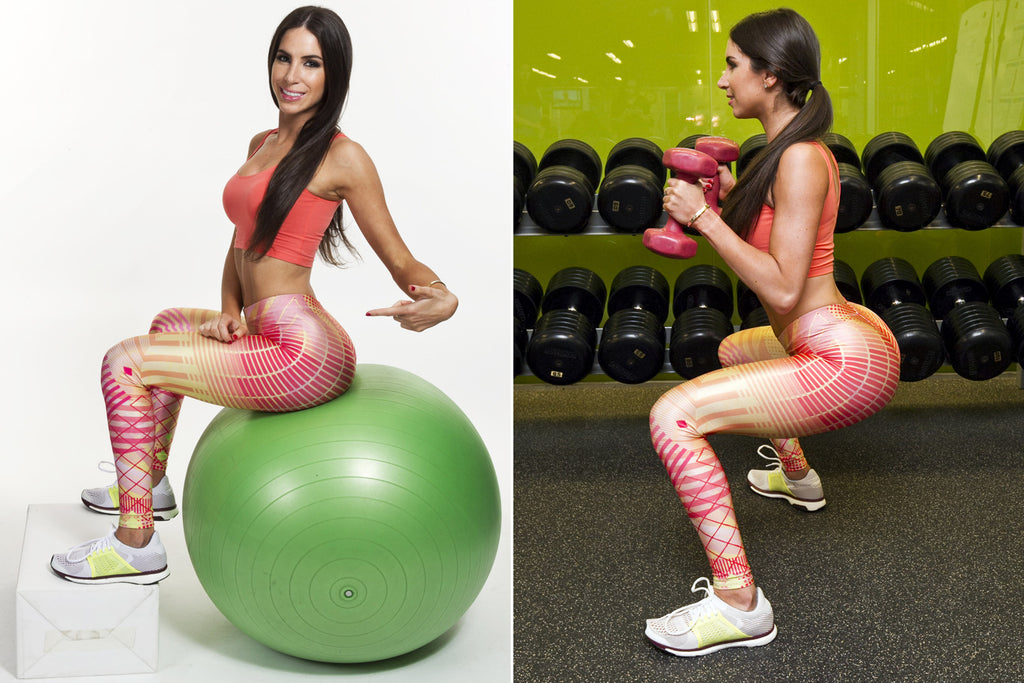 Jen Selter working out