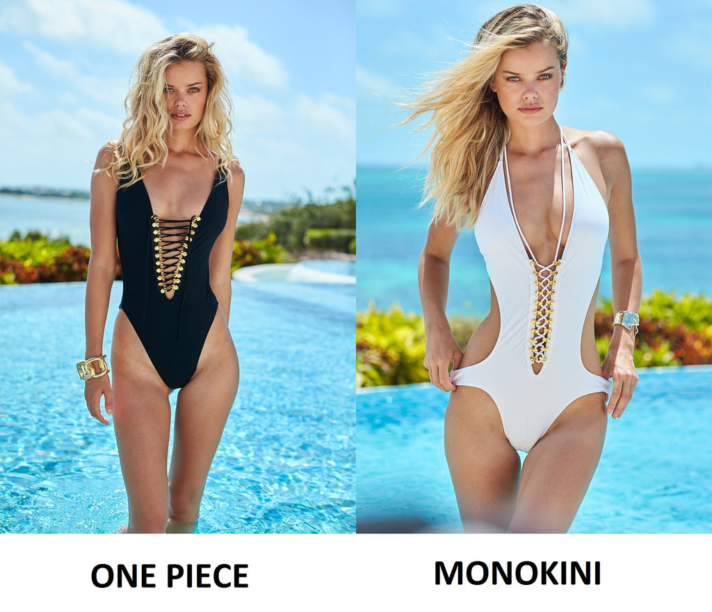 one piece swimsuit versus monokini