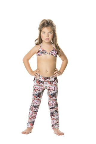 pinted kids leggings