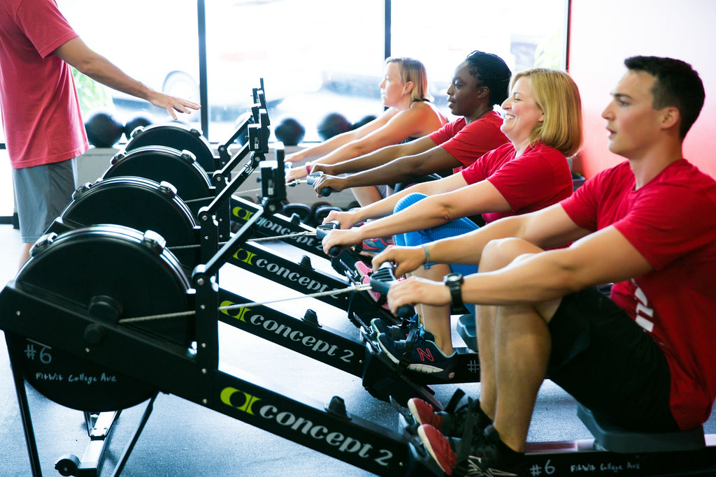 rowing machine classes