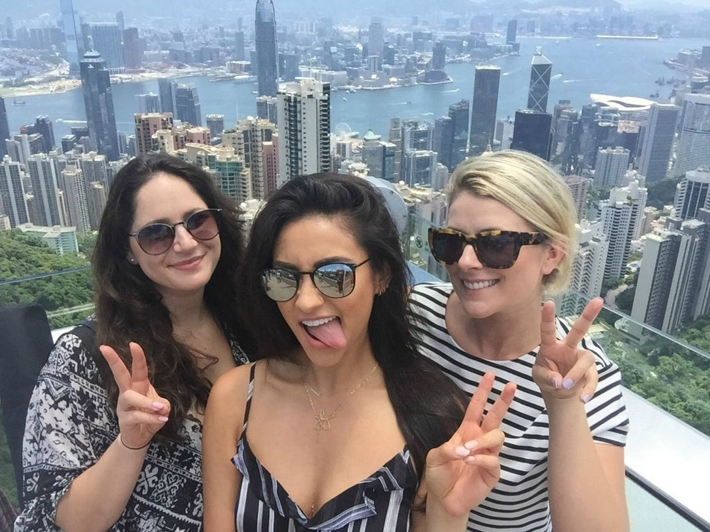 Shay Mitchel travels