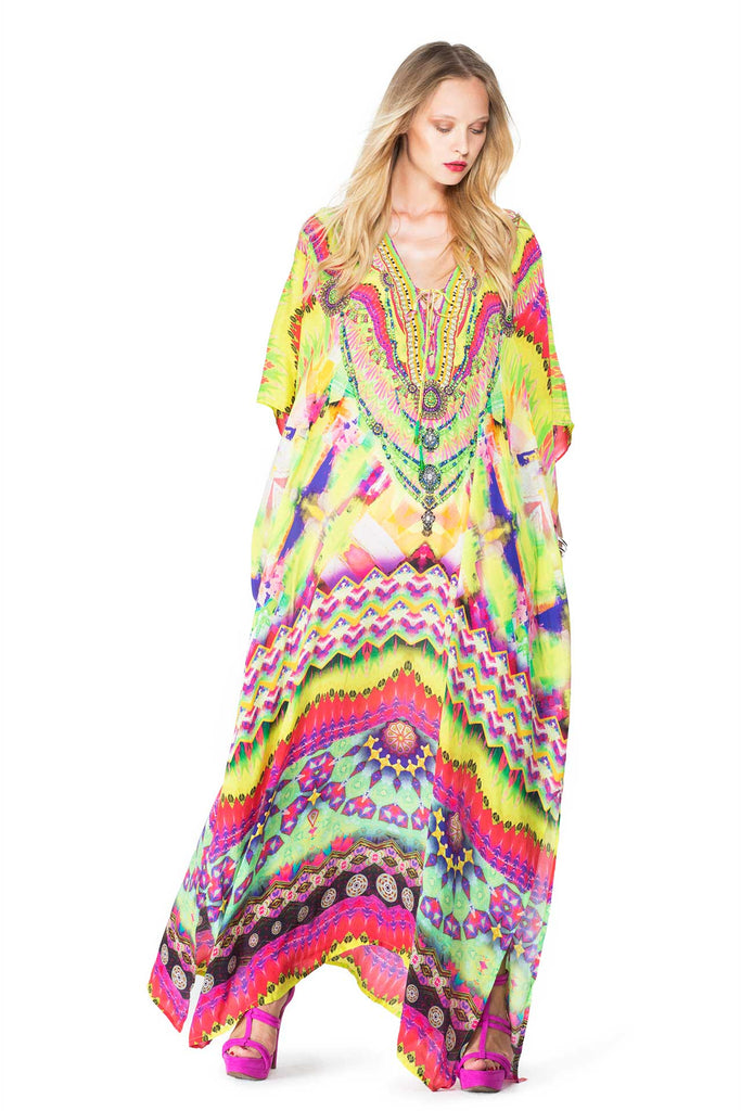 Shahida Parides Designer Kaftan Dress