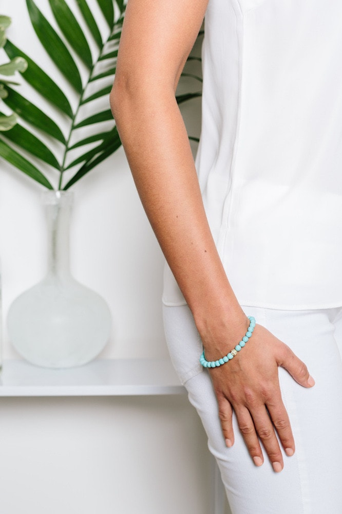 Tess and Tricia Turquoise Bracelet