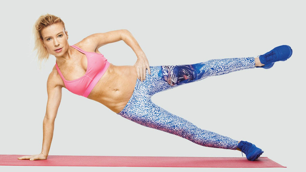 8 Minute Workout With Tracy Anderson