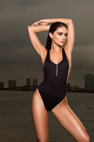 Zipper One Piece