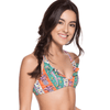 Ondademar Summer Tropiflower Triangle Bikini Set