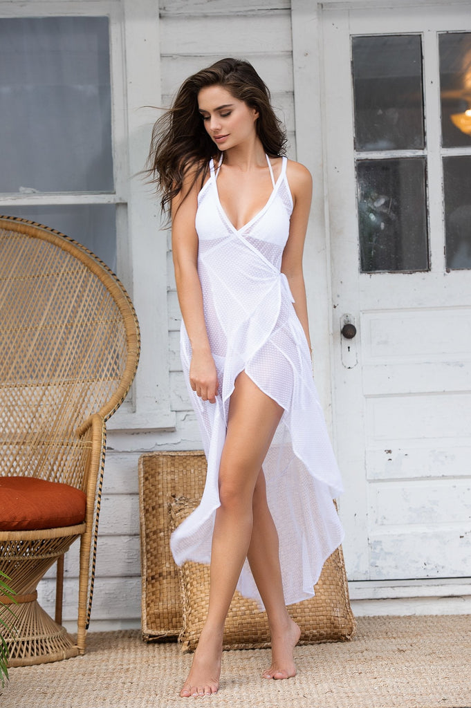 Flowy beach dress