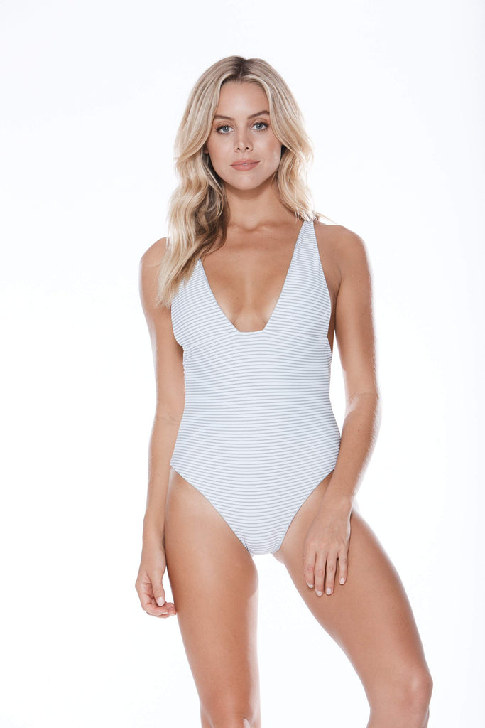 Luxury one piece swimwear