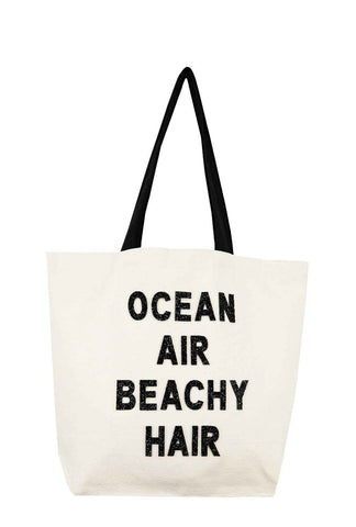 Big Beach Bag- Ocean Air Beach Hair