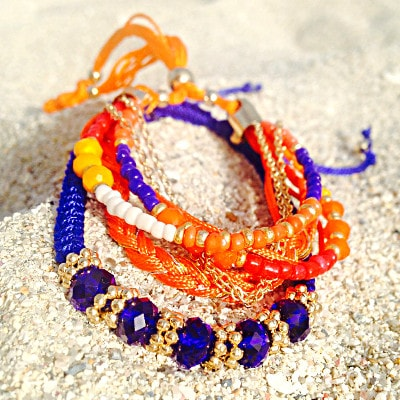 Bikini Luxe Sunset Layered Bracelet Combo