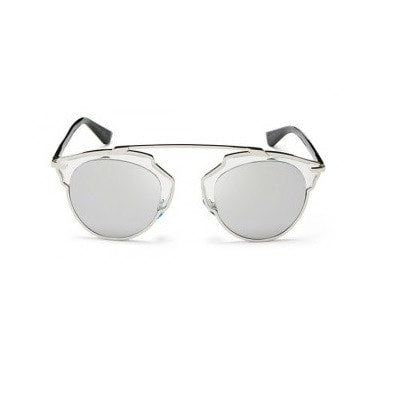 Silver Metallic Sunglasses