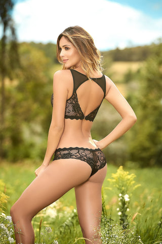 Black-Lace-Set
