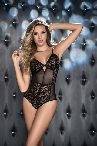 Black Lace Lingerie