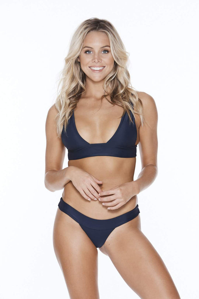Navy Blue Swimwear