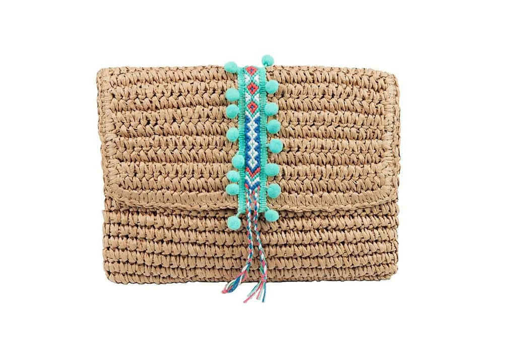 Day Clutch- Seafoam