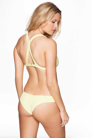 Frankies Bikinis Marina Bottom - Lime