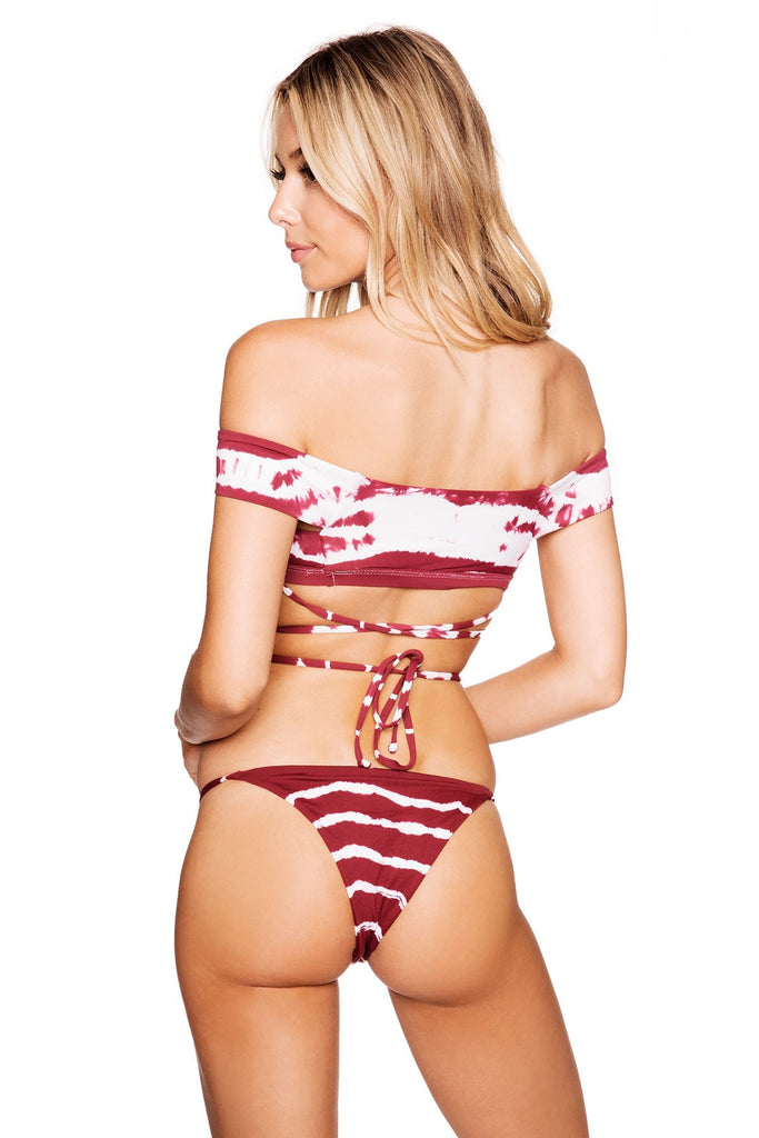 Frankies Tie Dye Bottom from Frankies Bikinis 2017 Collection