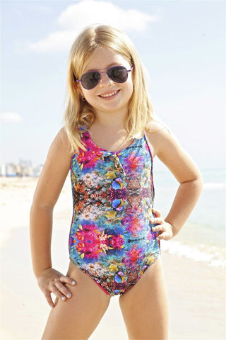 Peixoto Kids Isla One Piece - Coral Reef
