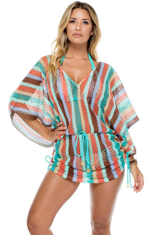 Mesh Cover Up Dress