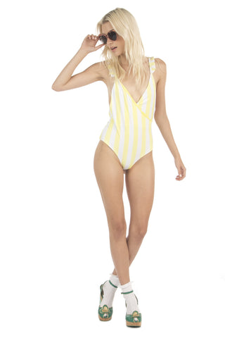 Lolli Swim Morning One Piece - Mellow Yellow