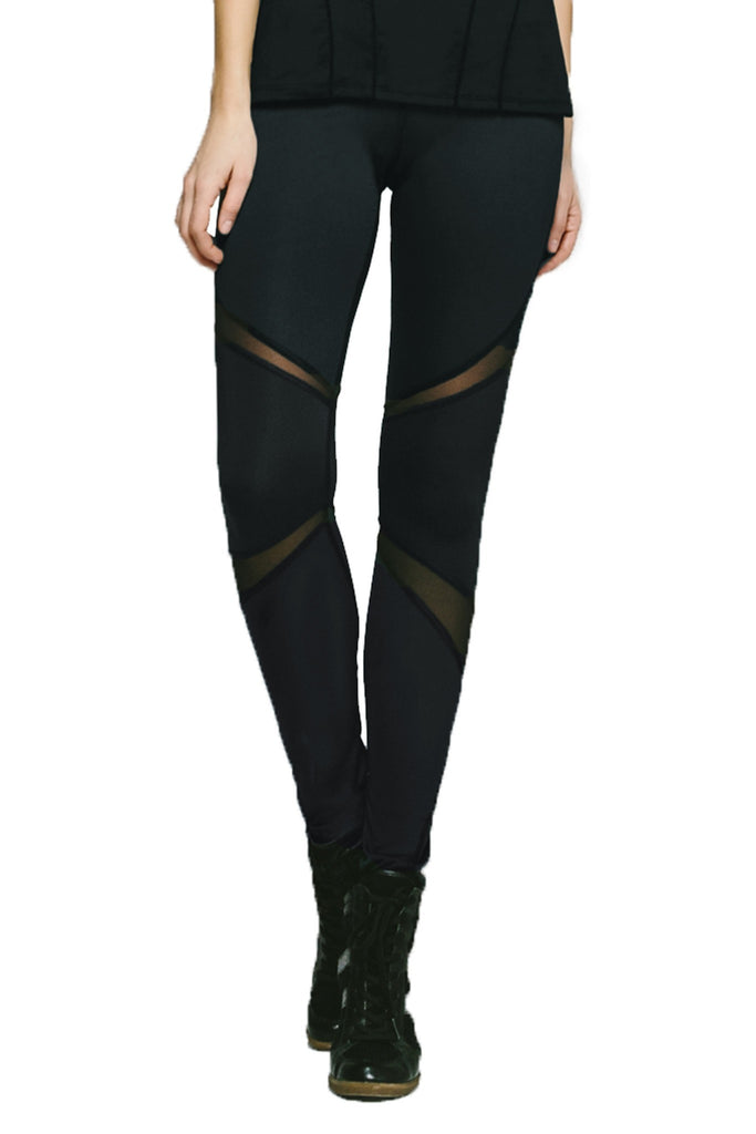 Michi Black Pulsar Leggings