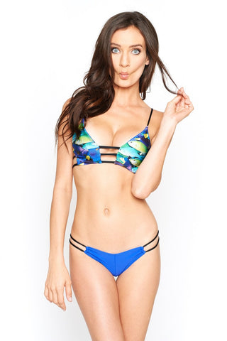 Montce Swim Deeper Blue Nadia Loops Bottom