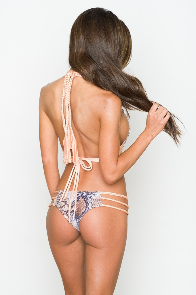 triple string bikini bottom